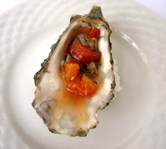 Pacific Oyster & Grapefruit- Blood Orange Mignonette