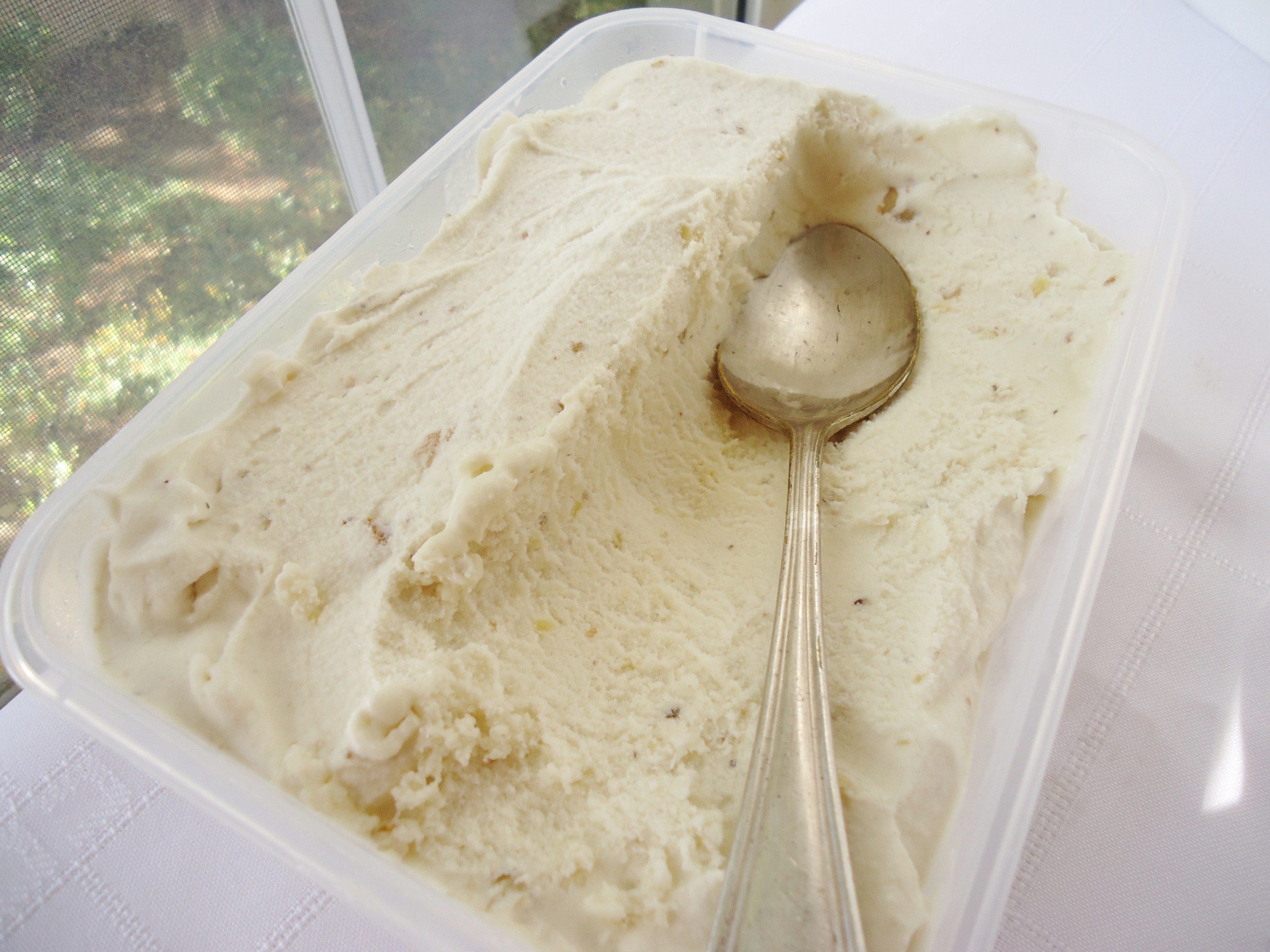 banana ice cream recipe seemed like the best choice