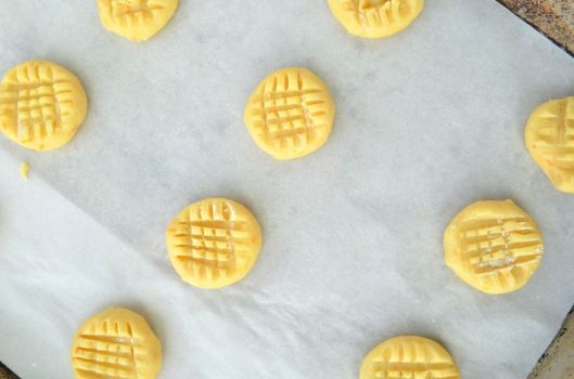Crosshatch cookies